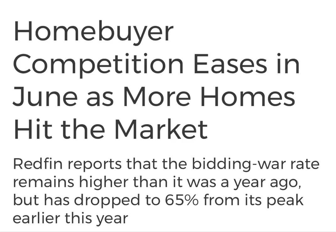 Redfin Market Report